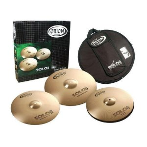 Kit de Pratos Orion Solo Pro PR70 Medium