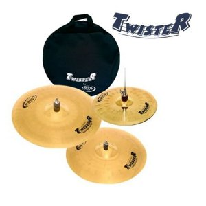 "Kit de Pratos Orion Twister TWR90 14"" 16""2 0"" com bag"