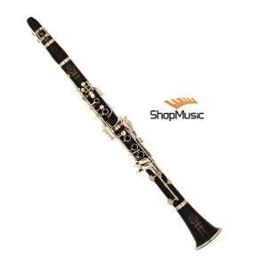 Clarineta Eagle CL04N 17 Chaves Niqueladas