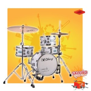 Bateria Odery Cafe Kit White