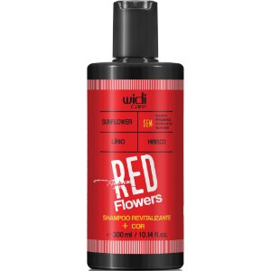 Widi Care Red Flowers Shampoo Revitalizante 300ml