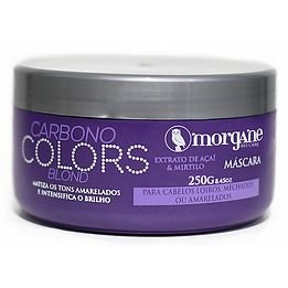Morgane Máscara Carbono Colors Blond 250g