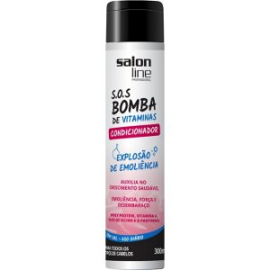 Condicionador SOS Bomba De Vitaminas 300 ml - Salon Line