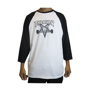 Camiseta 3/4 Thrasher