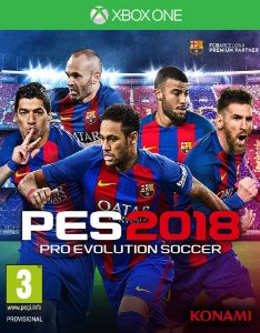 PES 2018: Pro Evolution Soccer - Xbox One - Mídia Digital