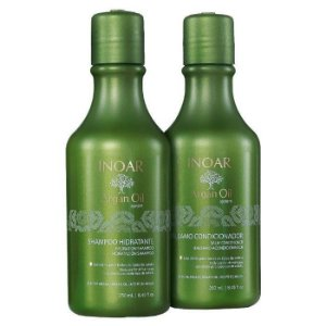 Inoar Argan Oil System Kit Shampoo + Condicionador 250ml