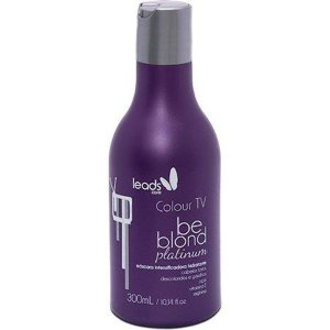 Matizador Leads Care Be Blond Platinum Colour Tv 300ml