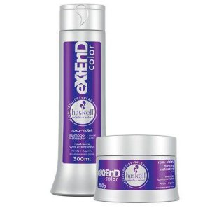 Kit Matizador Extend Color Roxo Violeta Haskell