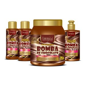 Kit Bomba de Chocolate Profissional Forever Liss