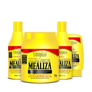 Kit Completo Profissional Maizena Capilar MeAliza Forever Liss