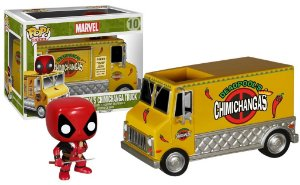 Funko POP Bobble Head Deadpool Chimichanga Truck