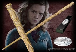 Réplica Original Varinha Hermione Granger na caixa simples por Noble Collection