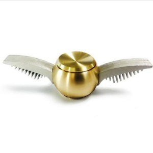 Spinner de Metal inspirado no Pomo de Ouro de Harry Potter