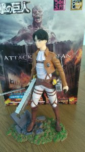 ACTION FIGURE ATTACK ON TITAN - PETIT CHARA LAND - RIVAILLE -