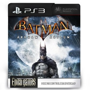 Batman Arkham Asylum - PS3 - Midia Digital