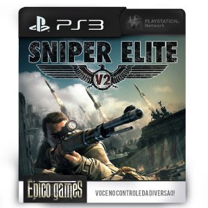 Sniper Elite V2 - PS3 - Midia Digital