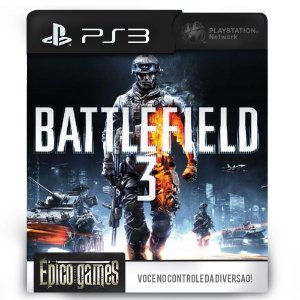 Battlefield 3 - PS3 - Midia Digital