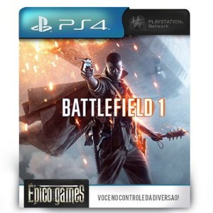 Battlefield 1 - PS4 - Midia Digital
