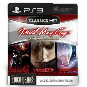 Devil May Cry HD Collection - PS3 - Midia Digital