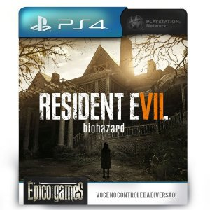 Resident Evil 7 Biohazard - PS4 - Midia Digital
