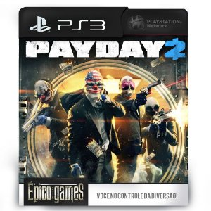 Payday 2 - PS3 - Midia Digital
