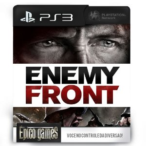 Enemy Front - PS3 - Midia Digital