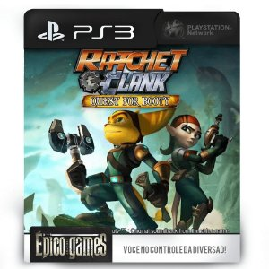 Ratchet & Clank Future: Quest for Booty - PS3 - Mídia Digital