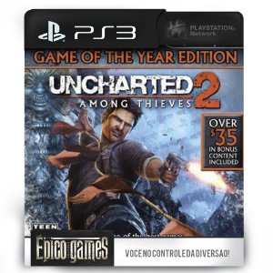 UNCHARTED 2: Among Thieves™ GOTY Edition - PS3 - Mídia Digital