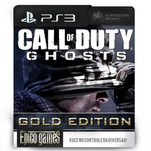 Call of Duty: Ghosts Gold Edition - PS3 - Mídia Digital