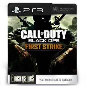 Call of Duty: Black Ops with First Strike - PS3 - Mídia Digital