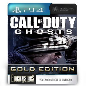 Call of Duty: Ghosts Gold Edition - PS4 - Mídia Digital