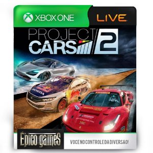 Project Cars 2 - Xbox One - Midia Digital