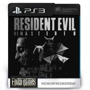 Resident Evil HD Remastered - PS3 - Midia Digital