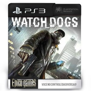 Watch Dogs - PS3 - Midia Digital