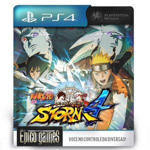 NARUTO SHIPPUDEN Ultimate Ninja STORM 4 - PS4 - Midia Digital
