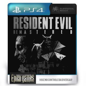 Resident Evil HD Remaster - PS4 - Mídia Digital
