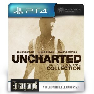 UNCHARTED The Nathan Drake Collection - PS4 - Mídia Digital