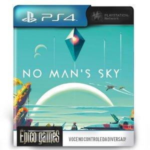 No Man's Sky - PS4 - Midia Digital