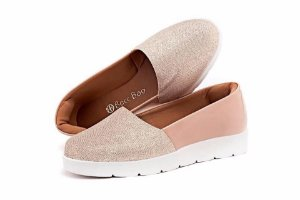 Tênis Slip-On Rose com Gliter 6 pares no : : Atacado : :