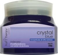 Máscara Matizadora Crystal Blue Home Care Fruit Therapy Colors 250 g