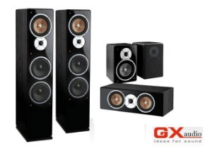 Caixa GX Audio Grandee para Home Theater / Torre & Bookshelf