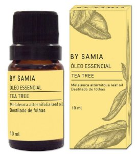 By Samia Óleo Essencial de Tea Tree (Melaleuca) 10ml