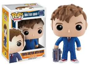 Pop! Television - Doctor Who: 10th Doctor Who With Hand #355| Funko