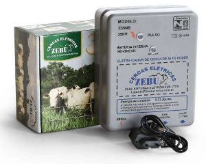 Eletrificador de Cerca com No-break Zebu Z35Nb