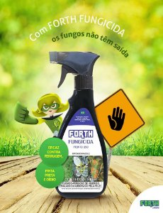 Forth Fungicida - Pronto Uso - 500ML