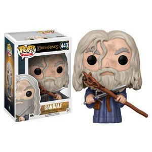 FUNKO POP! MOVIES SENHOR DOS ANÉIS LORD OF THE RINGS GANDALF #443