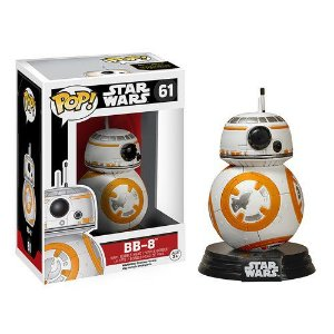 FUNKO POP! STAR WARS THE FORCE AWAKEN DESPERTAR DA FORÇA BB-8 #61