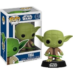 FUNKO POP! STAR WARS MESTRE YODA #02