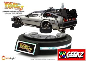 DELOREAN BACK TO THE FUTURE PART 2 FLYING MAGNETIC KIDSLOGIC 1/20TH SCALE BY KIDSLOGIC (22CM)