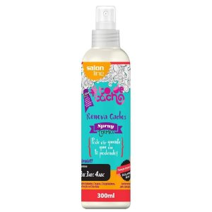 Salon LIne To de Cacho Renova Cachos Térmico Spray 300mL